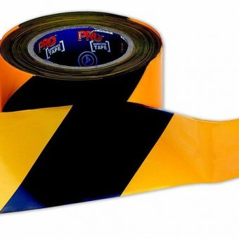 Barrier Tape – Black on Yellow