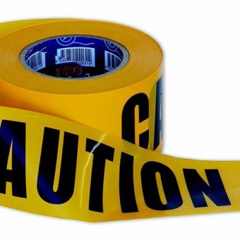 Barrier Tape – Caution